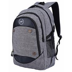 Review Terbaik Tas Ransel Backpack Kanvas Free Raincover Rst Canvas Laptop Bag Unisex Pria Wanita Navy Blue Abu