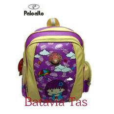 Tas Ransel Kids Palo Alto Bat-8a + Waterproof Raincover