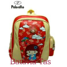 Tas Ransel Kids Palo Alto Bat-8c + Waterproof Raincover