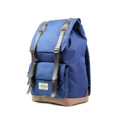 Tas Ransel Laptop Backpack / Tas Kuliah / Tas Punggung Visval Royale Navy