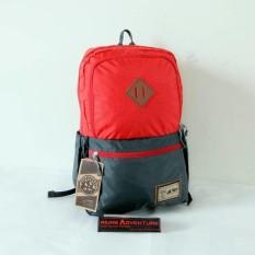 Tas Ransel Laptop + Cover Rei Extrada warna merah (Asli)