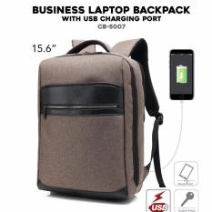 Harga Tas Ransel Laptop With Usb Port Tas Backpack Anti Sobek Tusuk Dan Goresan Coffe Brown Import Indonesia