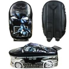 Tas Ransel Sekolah TK Batman 3D On The Road Tas Mobil / Tas Sekolah Anak Laki Laki Terbaru / TAs Bahu Anak / Punggung Pria / Murah