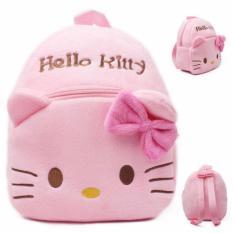 Tas Sekolah Anak Karakter Kartun Kitty Ransel Kucing Kecil Imut Lucu - Pink