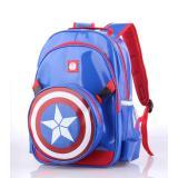 Spesifikasi Tas Sekolah Anak Laki Backpack Captain Amerika Catenzo Cbd176 Terbaru