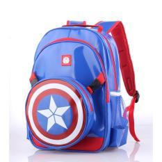 Tas Sekolah Anak Laki Backpack Captain Amerika Catenzo Cbd176 Promo Beli 1 Gratis 1