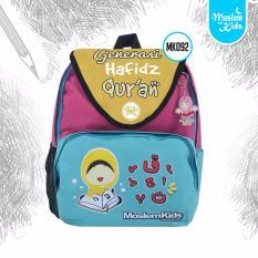Jual Tas Sekolah Ransel Anak Play Group Pg Tk Sd Small Bagpack Bag Back Pack Moslem Kids Hafidz Quran Baru