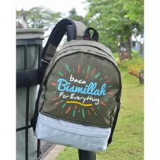 Tas Sekolah Ransel Anak Play Group PG TK SD Small Bagpack Bag Back Pack Muslim Kids Bismillah