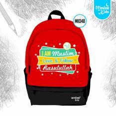 Toko Tas Sekolah Ransel Anak Sd Backpack Back Pack Muslim Kids Aku Cinta Follow Rasulullah Termurah Jawa Tengah