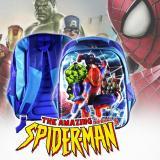 Jual Tas Sekolah Ransel Anak Tk Sd Cowok Model 3D Motif Amazing Spiderman Dan Avenger Grosir