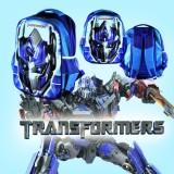 Toko Tas Sekolah Ransel Anak Tk Sd Cowok Model 3D Motif Kepala Transformer Lengkap