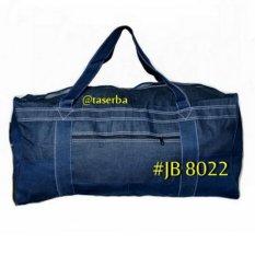 Tas Travel Bag Pakaian Besar Tas Travelling Jumbo Jeans Bag JB 8022 Jeans