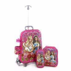 Diskon Tas Troli Anak Karakter Barbie 4 In 1 Akhir Tahun