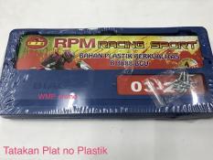 Tatakan Plat Nomer Biaggi Plastik RPM