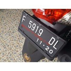 Tatakan plat nomor motor high quality .