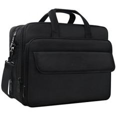 Business Briefcase Water Resitant Single Shoulder Computer Messenger BagCarry On Handle Travel Case For Asus Acer Dell HP Black Intl
