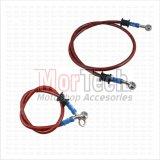 Beli Tdr Paket Slang Selang Kabel Minyak Rem Set Depan Belakang Sonic 150 Merah Tdr Dengan Harga Terjangkau