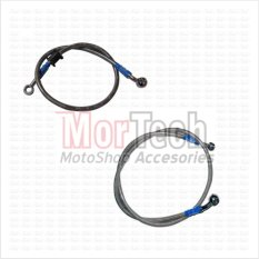 TDR Paket Slang - Selang - Kabel Minyak Rem Set Depan+Belakang Tiger Revo Abu