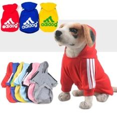 Teddy Poodle Rompi Sweater Pet Pakaian Anjing Mantel Kartun Hewan Pola Baju XL Ukuran-Intl