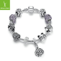 Remaja Gadis Cute Little Panda Diamond Gelang PA1483 18 Cm