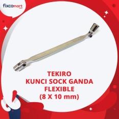 Jual Tekiro Kunci Sock Ganda Flexible 8X10 Mm Tekiro Double Swivel Wrench Dki Jakarta Murah