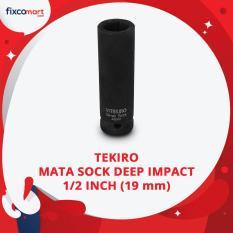 Jual Tekiro Mata Sock Deep Impact 1 2 Inch 6 Pt 19 Mm Tekiro Socket Deep Impact Online Di Dki Jakarta