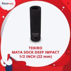 Diskon Produk Tekiro Mata Sock Deep Impact 1 2 Inch 6 Pt 22 Mm Tekiro Socket Deep Impact