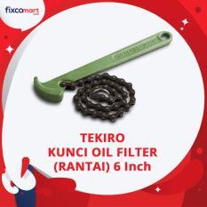 Harga Tekiro Oil Filter Wrench Chain Kunci Oil Filter Rantai 6 Inch New