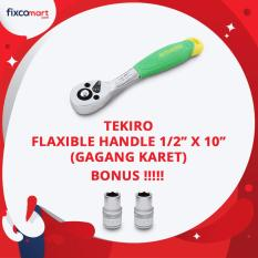 Situs Review Tekiro Ratchet Handle Gagang Karet 1 2 X10 Ratchet Handle Free 2 Mata Socket