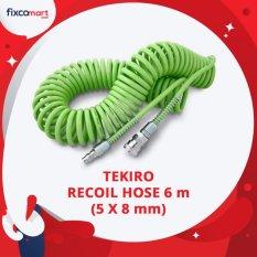 Tekiro Recoil Hose 6 M 5X8 Mm Selang Kompresor Tekiro Diskon 40