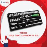 Jual Tekiro Tool Tray 3 8 Inch 37 Pcs Tool Tray Socket Set 3 8 Lengkap