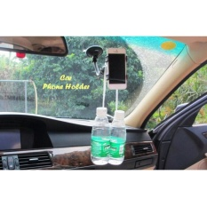 Tempat Hp Di Mobil Car Phone Holder Soft Tube Holder Hitam Putih Holder Handphone Terbaru
