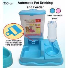 Review Toko Tempat Makan Minum Hewan Otomatis 2In1 Anjing Kucing Dsb