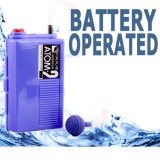 Jual Cepat Tenaga Baterai Atman Atom 2 Pompa Udara Dc Air Pump Battery Battre Batre Akuarium Kolam Ikan Tawar Laut Aerator
