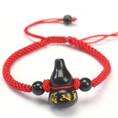 Harga Hemat Gelang Obsidian Tali Merah Diy Tali Tangan Merah Rajut