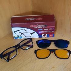 Harga Terbaru Ask Vision 3 In 1 Kacamata Magnet Magic Hd Vision Day Night View Kdstr Dan Spesifikasinya