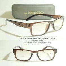 Terbaru Kacamata Baca Plus / Kacamata Progresif / Lensa Bifokal - Kdstr