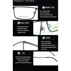 Terbaru Kacamata Ff6 + Lensa Essilor Crizal Minus Plus Pria - Kdstr