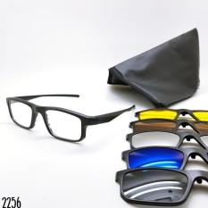 Review Tentang Terbaru Kacamata Sunglass Pria Rb Clip On 5 Lensa 2256 Super Kdstr