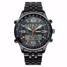 Terlaris !! Skmei Casio Men Sport Led Watch Water Resistant 50m - Ad1032 - Jam Tangan Pria Lelaki Laki-Laki Cowo Cowok Man Anti Air Waterproof 50 M Meter Original
