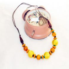 TERLARIS.Rugi kalau tidak memilikinya. Kalung Kayu Murah dari perajin yogya warna etnik kayu  13