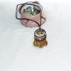 TERLARIS.Rugi kalau tidak memilikinya. Kalung Kayu Murah dari perajin yogya warna etnik kayu  2