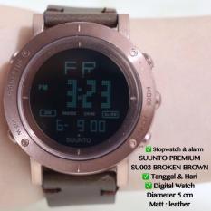 TERMURAH Jam Tangan SUUNTO PREMIUM Digital Tali Kulit Leather Casio Dw