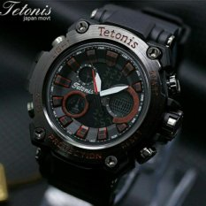 Tetonis Dual Time Jam Tangan Fashion Pria Ds Dki Jakarta