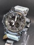 Spesifikasi Tetonis Dual Time Ts7872Rabhtm Jam Tangan Pria Sport Rubber Strap Abu Lis Hitam Paling Bagus