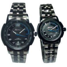 Tetonis Jam Tangan Couple Serries Ts985Fb Black Tetonis Diskon 50