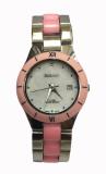 Jual Tetonis Jam Tangan Fashion Wanita Silver Pink T0775M Spink