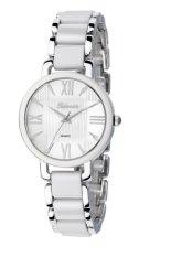 Spesifikasi Tetonis Jam Tangan Fashion Wanita Silver White T9485L Yang Bagus
