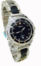 Beli Barang Tetonis Jam Tangan Fashion Wanita T9695M Sb Silver Hitam Online