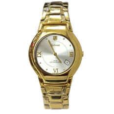 Jual Tetonis Jam Tangan Wanita Gold Stainless Steel T951Gw Gold White Murah Indonesia